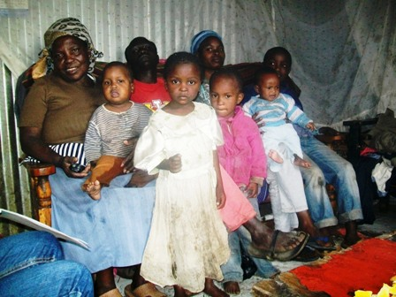 Grace Wambui Kiragu and 8 children, small web