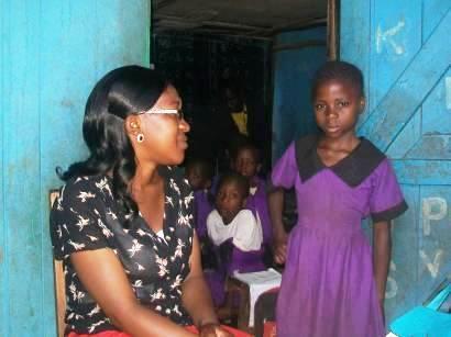 school visit, social worker